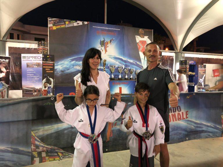Pioggia di medaglie per l'Asd  Taekwondo Team Siciliano