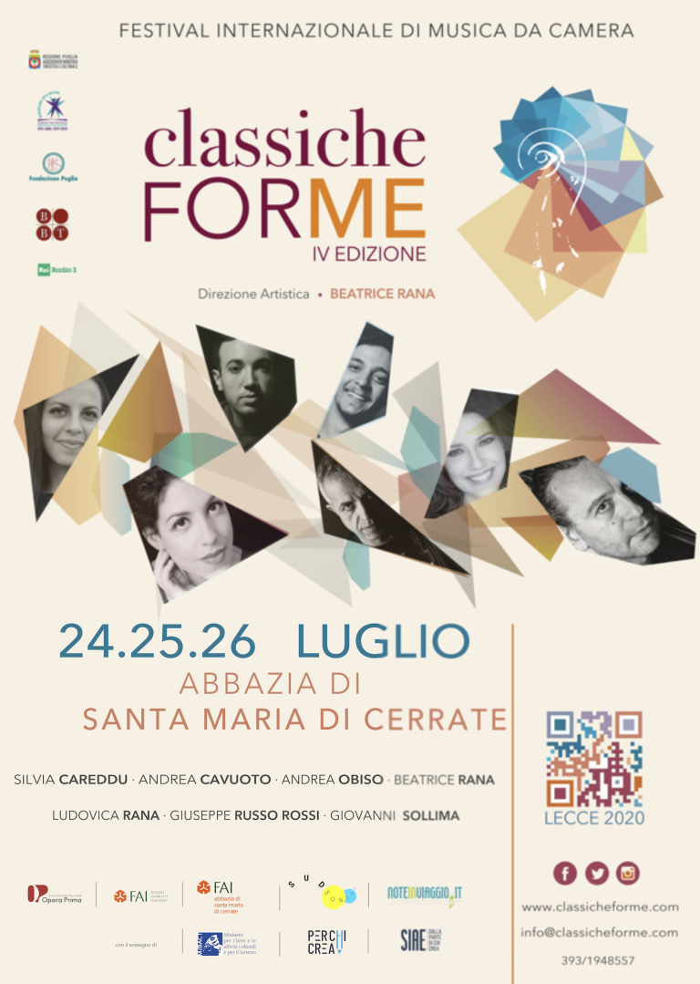 ClassicheFORME Festival Internazionale di Musica da Camera